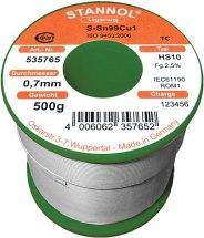 Drut lutowniczy bezołowiowy, średnica 0,5mm, 250g,