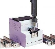 Urządzenie do podawania śrub NSR-10, z wymiennymi szynami.