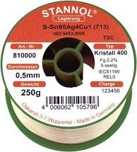 Drut lutowniczy bezołowiowy, szpula, S810001,  0,7mm