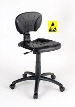 Krzesło ESD, seria II, poliuretanowe.