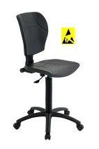 Krzesło ESD, seria III, poliuretanowe.