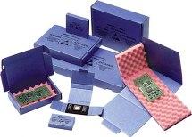 Opakowanie kartonowe, do wysyłek, ESD, 100x60x15mm, z pianką polietylenową, 6mm