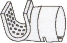 Dysza do urządzeń Labor-S oraz HOT-JET-S, sito - 34x50mm