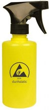 Butelka ESD z rozpylaczem, żółta