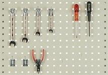 Ścianka perforowana dla stanowisk montażowych ESD, 1119x750mm.