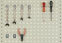 Ścianka perforowana dla stanowisk montażowych ESD, 1419x750mm