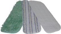 Ściereczka do mopa SUPRA, kolor biały w paski, 47,5x14,5cm.