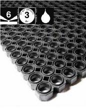 Mata podłogowa pierścieniowa Ringmat industry, 91x152mm.