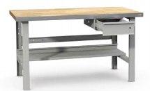 Stanowisko montażowe Table 500 C3, z półką pod blatem i szufladą, 1830x800mm.