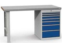 Stanowisko montażowe Table 500 C5, z szufladami. 1530x800mm.
