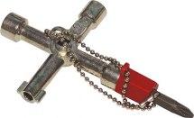 Klucz krzyżakowy wielofunkcyjny.