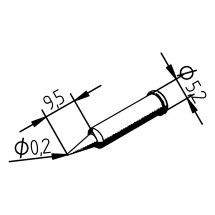 Grot lutowniczy 102PDLF02  do Typ ERSA 102.