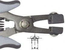 Szczypce specjalne do gięcia komponentów. PPR-5001.   ESD